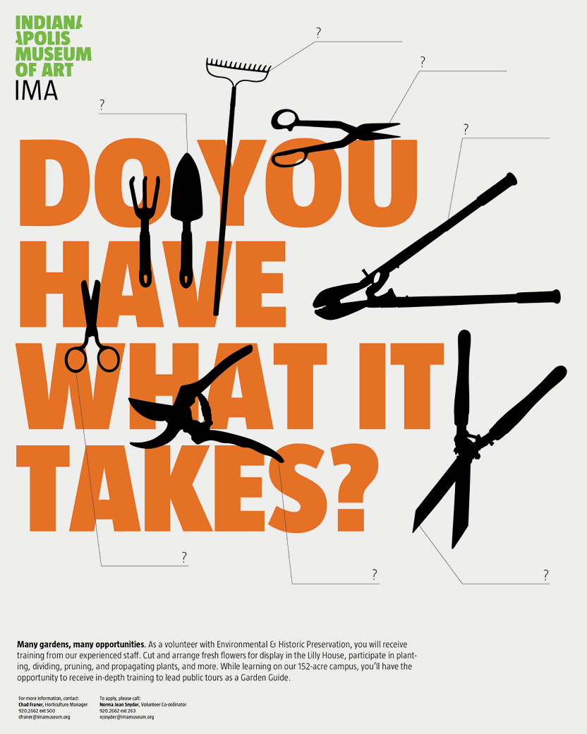 Poster design volunteer - Poster